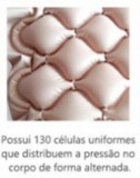 COLCHÃO PNEUMÁTICO AIR PLUS DELLA MED
